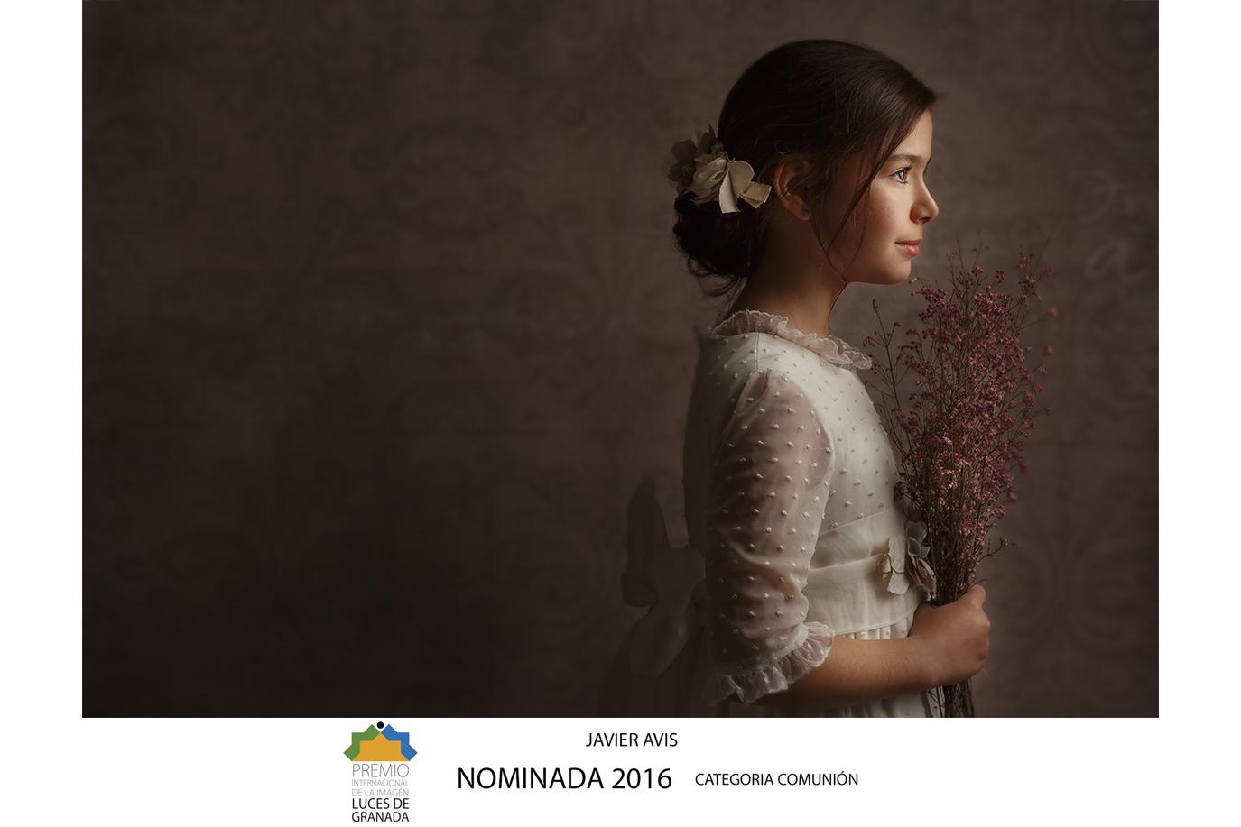 Javier Avis Premio Luces de Granada